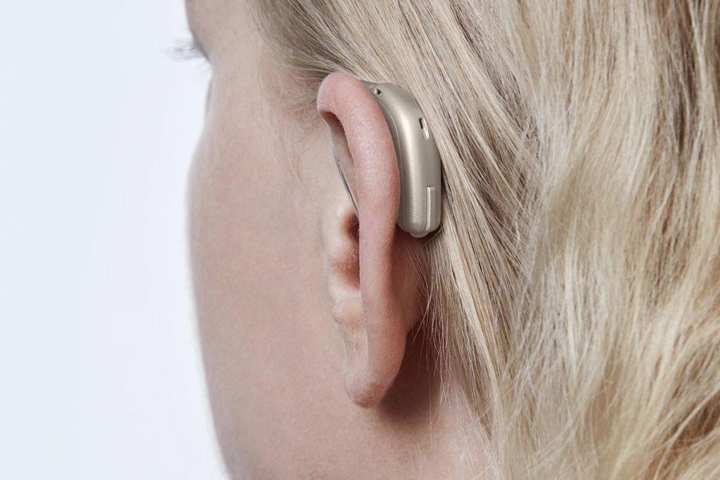 אופן אס אוטיקון מאחורי האוזן